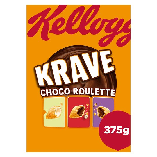 Kellogg's Krave Choco Roulette 375G