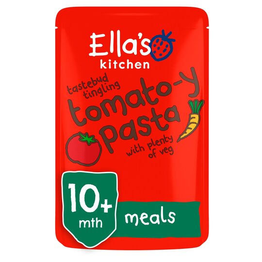Ella's Kitchen Organic Tomato Pasta With Vegetables 190G
