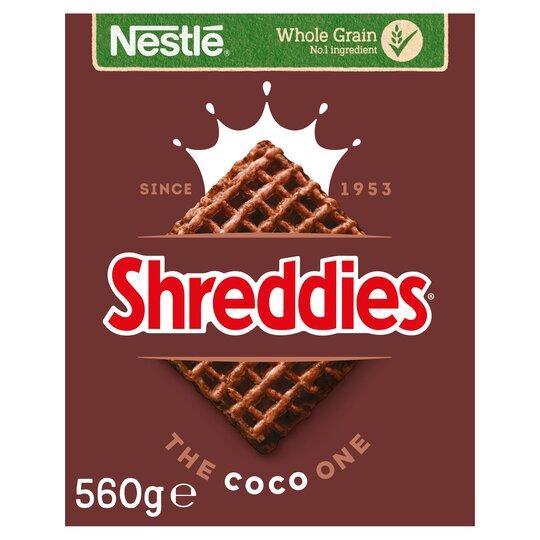 Nestle Shreddies Coco Cereal 560G