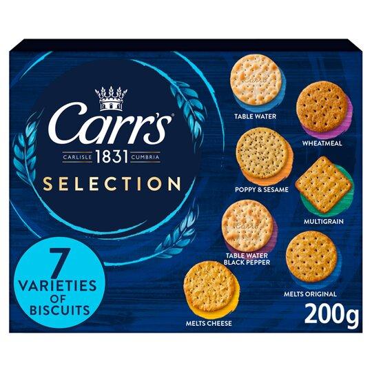 Carrs Selection Carton 200G