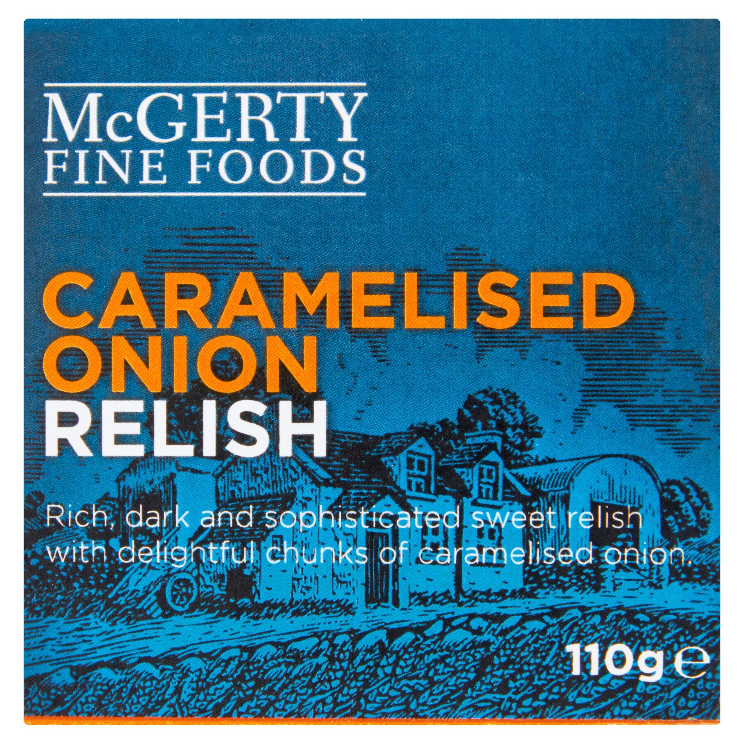 Mcgerty Caramelised Onion Relish 110G