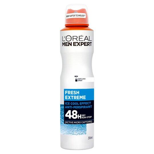 L'Oreal Men Expert Fresh Extreme Deodorant 250Ml