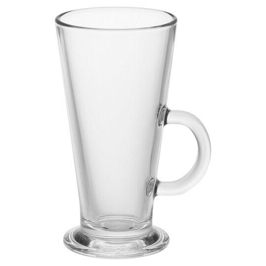 Tesco Glass Latte Mug Tesco Groceries