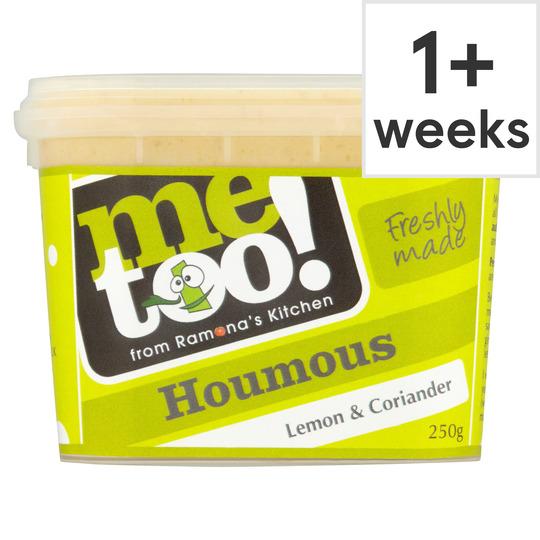 Me Too! Lemon & Coriander Houmous 250G