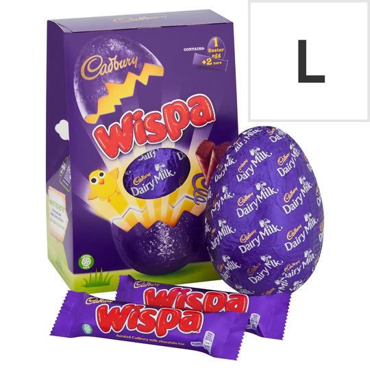 Cadbury Wispa Chocolate Egg 249G