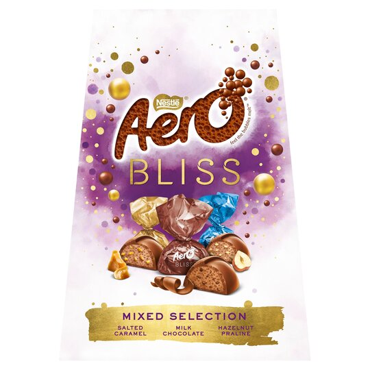 Nestle Aero Bliss Mixed Chocolate Sharing Box 177G