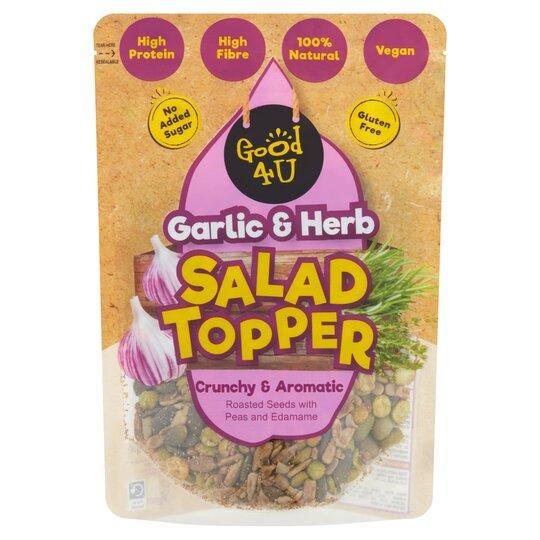 Good4u Protein Salad Topper Garlic & Herb 125G