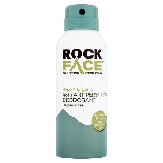 Rockface 48Hr Antiperspirant Deodorant Hypoallergenic 150Ml