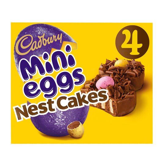 Cadbury 4 Mini Egg Nest Cakes