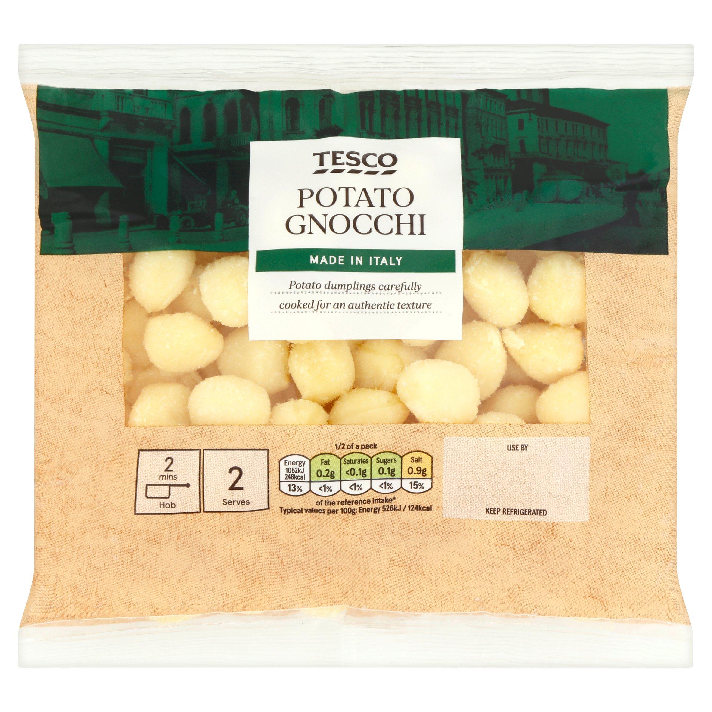 Tesco Fresh Potato Gnocchi 400G