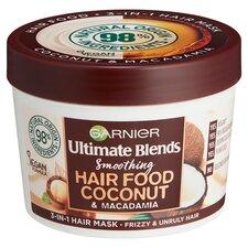 image 1 of Garnier Ultimate Blends Hair Food Coconut 3In1 Mask 390Ml