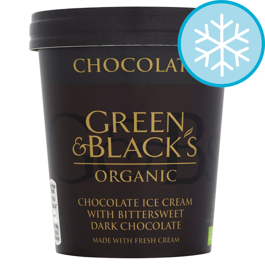 Green & Blacks Organic Chocolate Ice Cream 500Ml