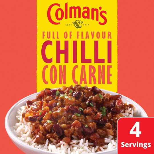 Colman's Chilli Con Carne Recipe Mix 50G