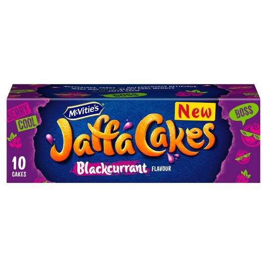 Mcvities Blackcurrant Flavour Jaffa Cakes 10 Pack