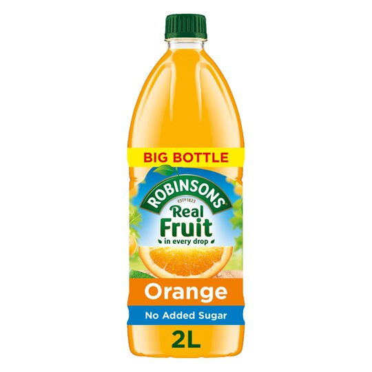 image 1 of Robinsons Orange No Added Sugar Squash 2L