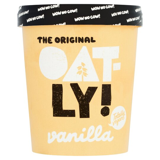 Oatly Vanilla Ice Cream 500Ml