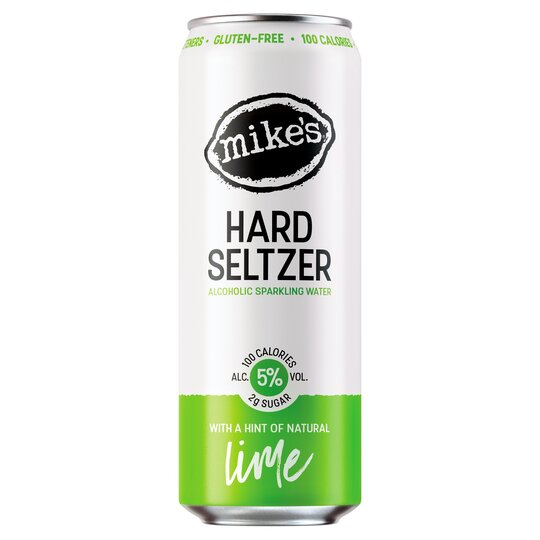 image 1 of Mike's Alcoholic Hard Seltzer Lime 330Ml