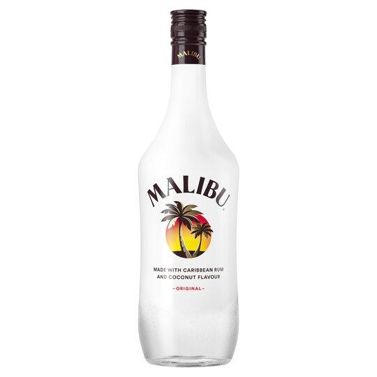 Malibu White Rum With Coconut 1L