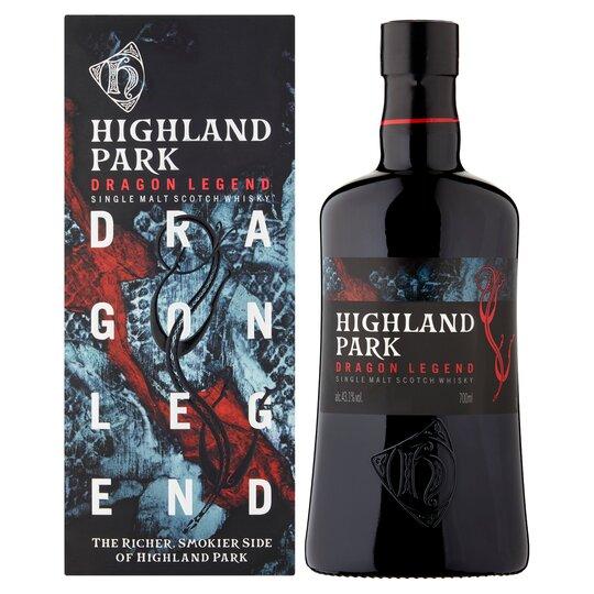 Highland Park Dgn Lgd Mlt Wky 70Cl - Smoky
