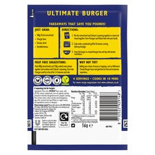 image 2 of Colman's Ultimate Burger Seasoning Mix 56G