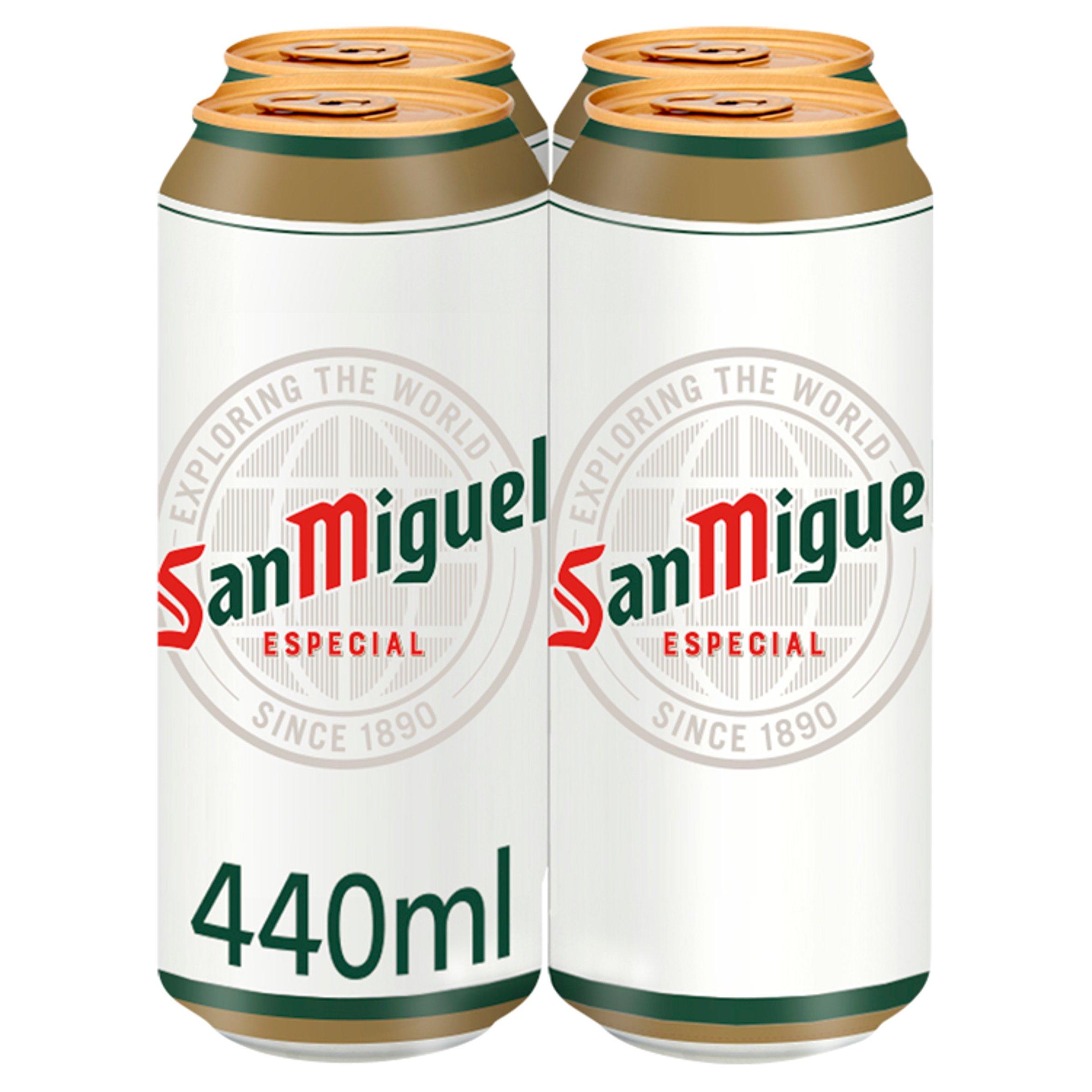 San Miguel Especial Premium Lager 4X440ml