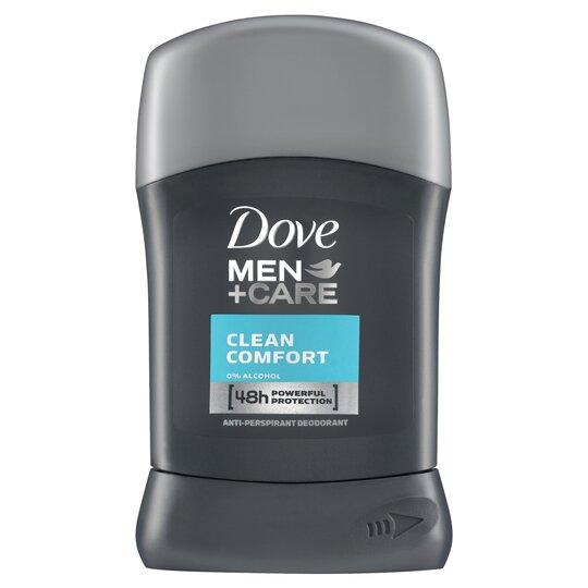Dove Men+Care Clean Cmfrt Antiperspirant Deodorant Stick 50Ml