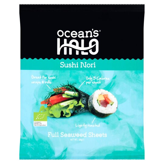 Ocean's Halo Sushi Nori 28G