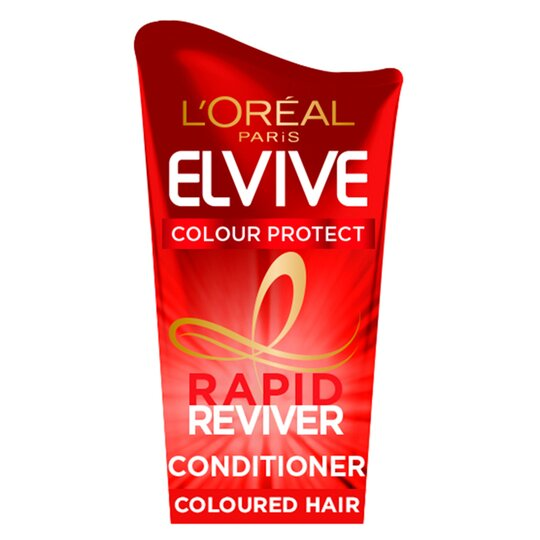 image 1 of L'oreal Elvive Colour Protect Rapid Conditioner 180Ml