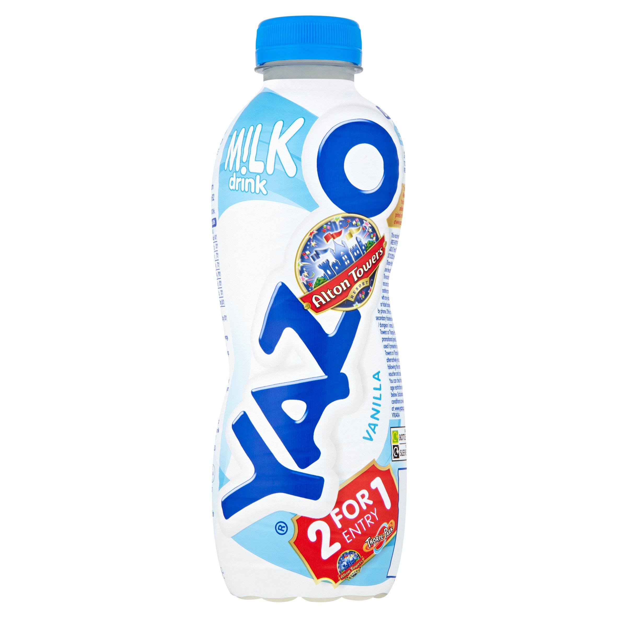 Yazoo Vanilla Milk 400Ml