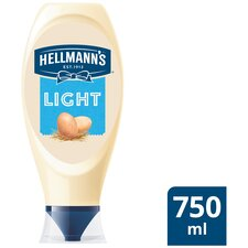 image 2 of Hellmann's Light Squeezy Mayonnaise 750Ml