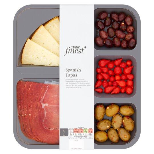 Tesco Finest Spanish Tapas 175G