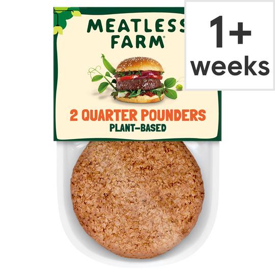 The Meatless Farm 2 Plant-Based Burgers 227G