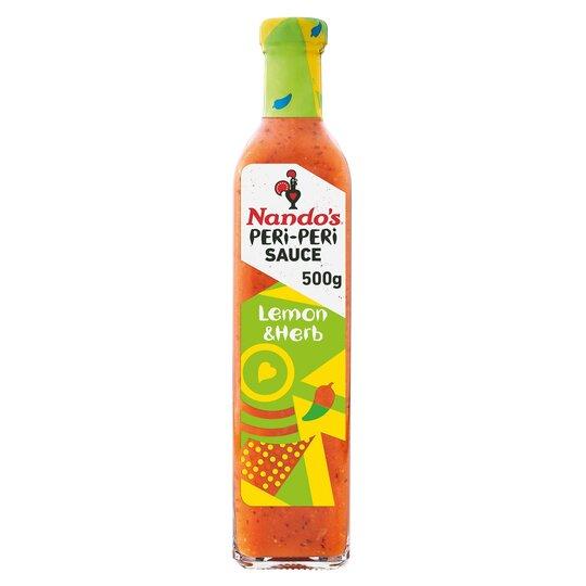 Nandos Peri-Peri Sauce Lemon & Herb 500G