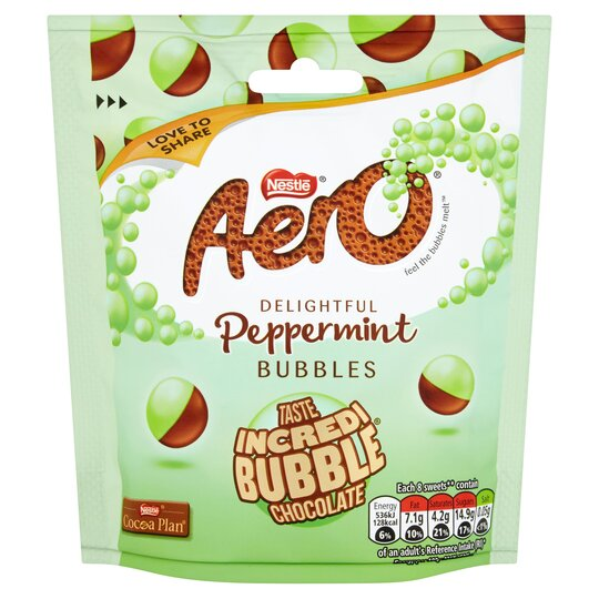 Aero Bubbles Peppermint Pouch Bag 102G