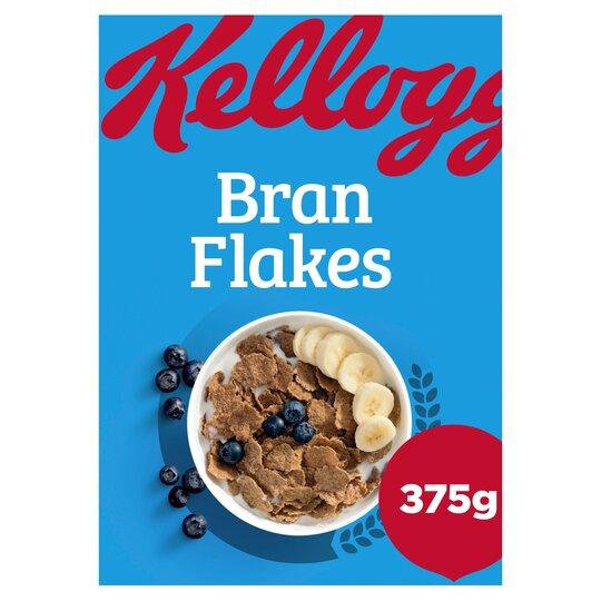 Kellogg's Bran Flakes Cereal 375G