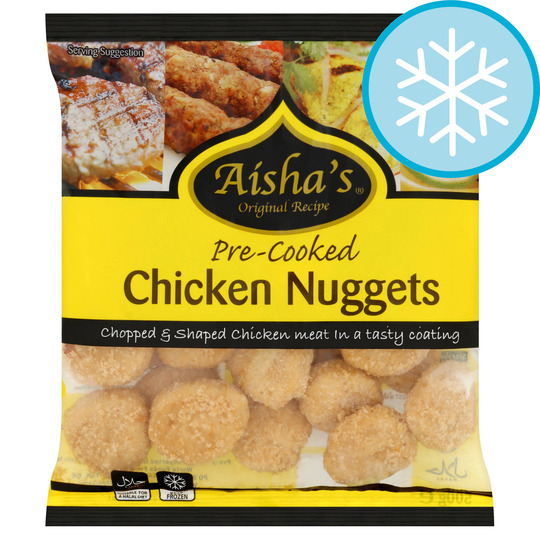Aishas Value Chicken Nuggets 500G