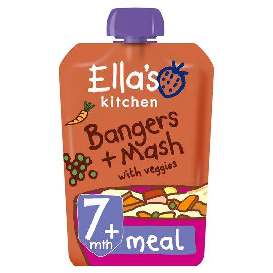 Ella's Bangers & Mash Stage 2 130G