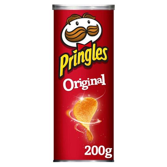 Pringles Original 200G - Tesco Groceries