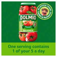 image 3 of Dolmio Bolognese Original Low Fat Pasta Sauce 500G