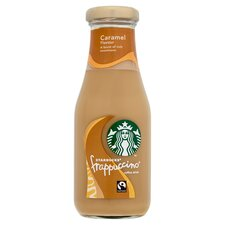 Starbucks Frappuccino Caramel 250ml Tesco Groceries