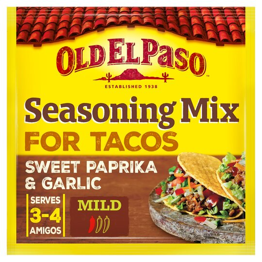 Old El Paso Taco Seasoning Mix 25g Tesco Groceries