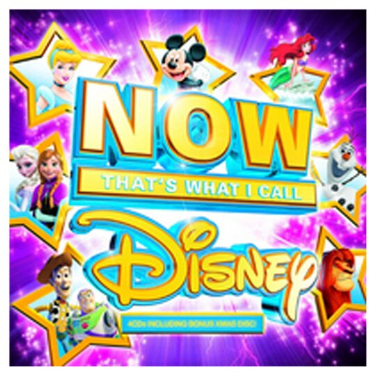 Various Now That's What I Call Disney 4Cd