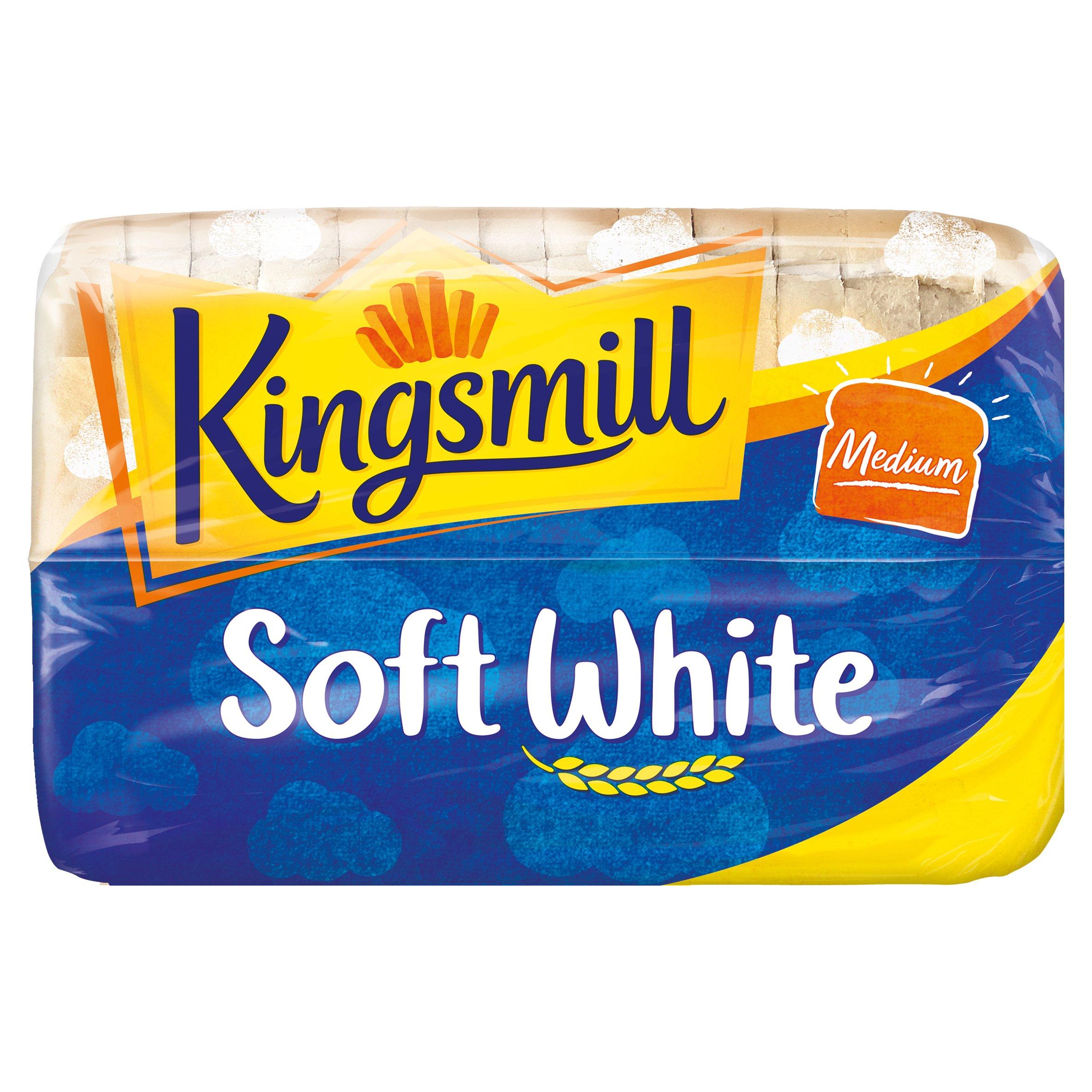 Kingsmill Soft White Medium Bread 800G