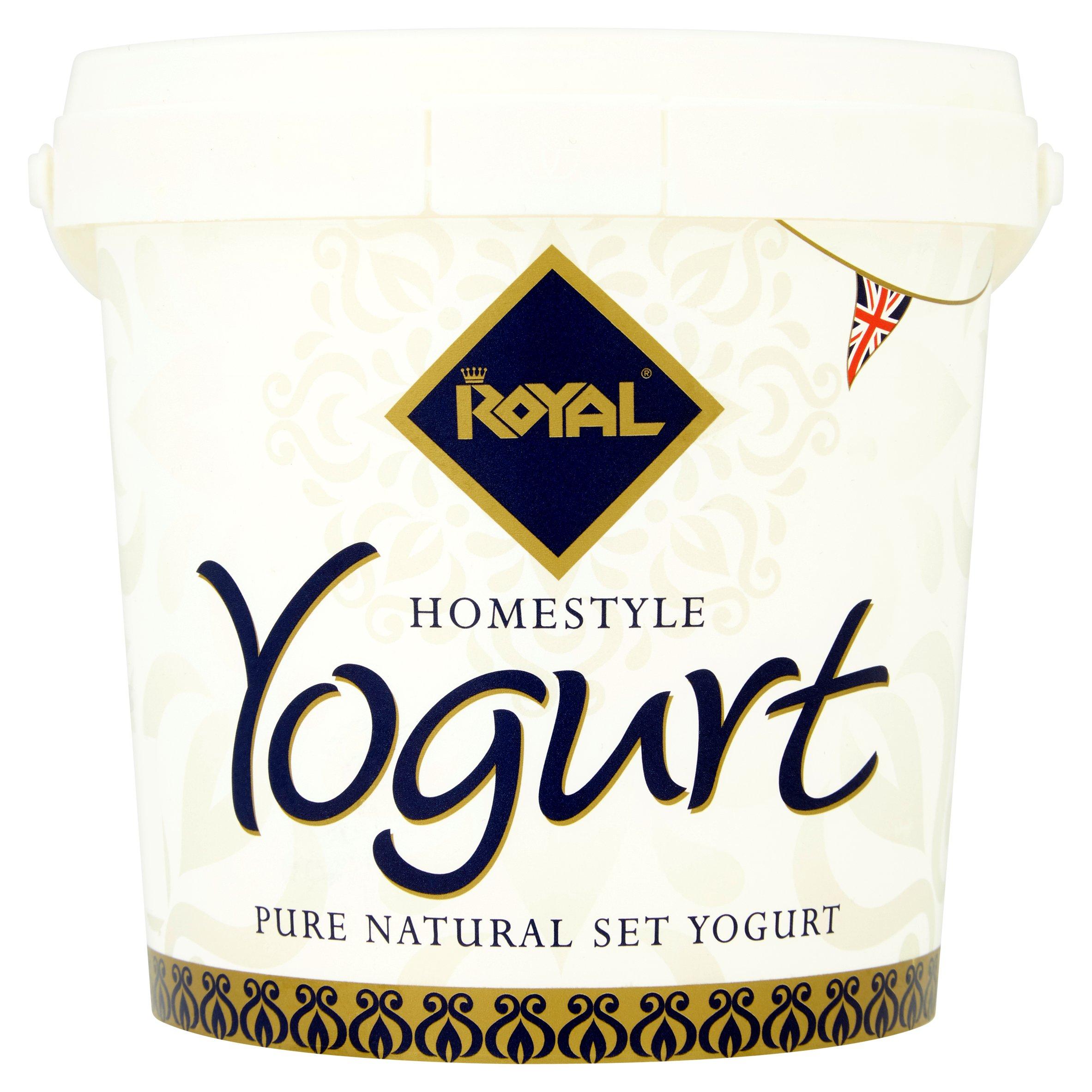 Royal Homestyle Pure Natural Set Yogurt 1Kg