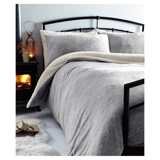 Tesco Dark Grey Pillowcase X 2 for sale