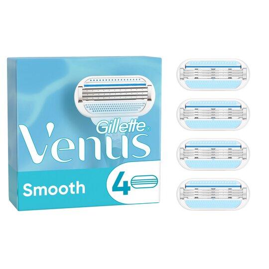 image 1 of Gillette Venus Smooth Razor Blades Refill 4 Pack