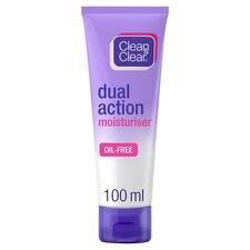 image 1 of Clean & Clear Dual Action Moisturiser 100Ml