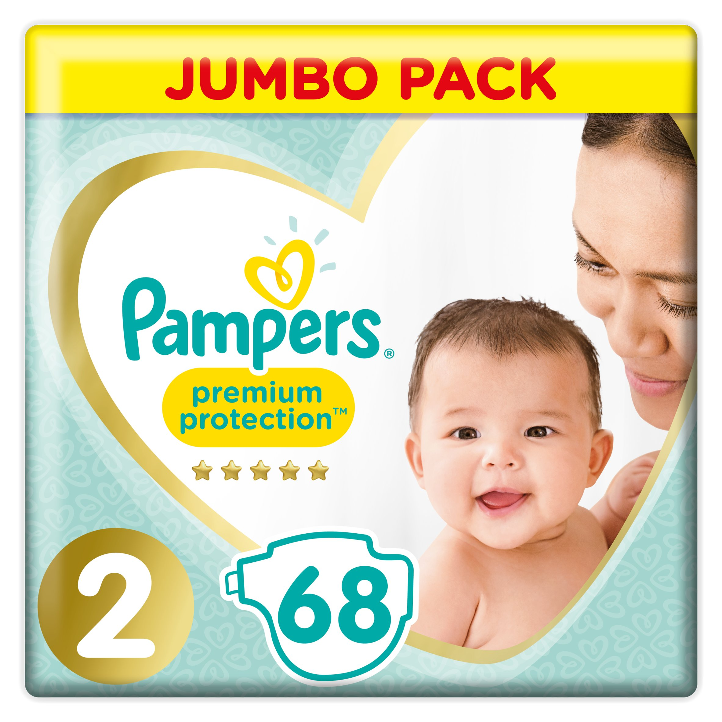 Pampers New Baby Large Pack Size 2 68