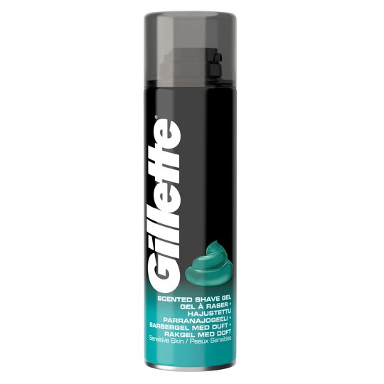 image 1 of Gillette Classic Sensitive Skin Shave Gel 200Ml