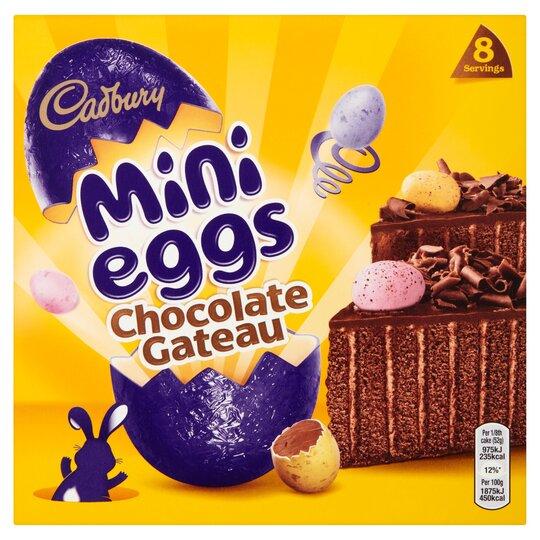 Cadbury Mini Eggs Chocolate Gateau Each
